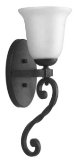 prg P7165-71 PRG 1-100W MED WALL SCONCE Gilded Iron