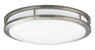 prg P7250-0930K9 PRG LED 31W 3000K 1765 LUMEN FLUSH MOUNT 17