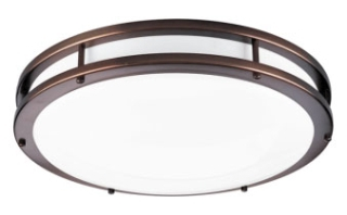 prg P7250-17430K9 PRG 31W LED FLUSH MOUNT Urban bronze