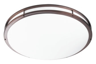 prg P7252-17430K9 PRG LED CTC COMM 52W LED FLUSH MOUNT BROWN