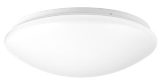 prg P730006-030-30 PRG 1-LT LED MED RD CLOUD White
