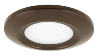 prg P8108-20-30K PRG LED FLUSH MOUNT BRONZE