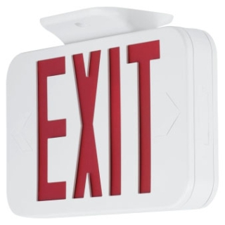 prg PETPE-UR-30 PRG LED EMERGENCY EXIT RED White