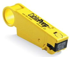 Cable Prep Yellow Stripper for Rg59 & Rg