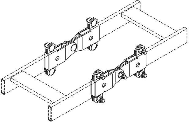 CPI Butt Swivel Ladder Splice Kit Black