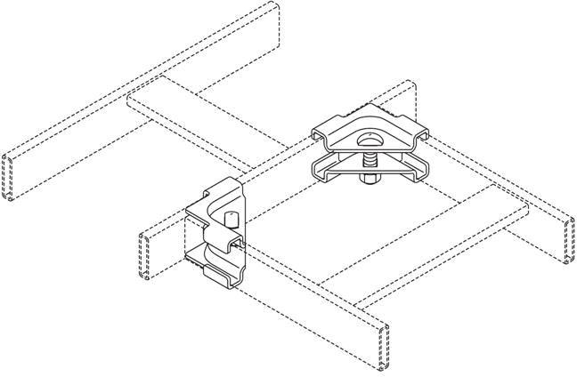 CPI 90 Degree Ladder Splice Kit Black