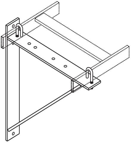 CPI 6-12 Triangle Ladder Rack Support