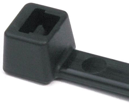 Tyton 5in Cable Tie 18lb Black 100/BG