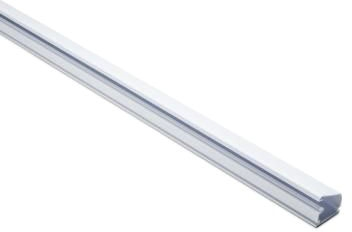 Tyton 1-1/4 Plastic Latch Duct White 8ft