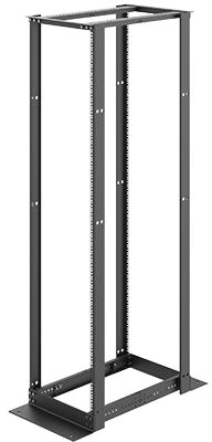 Hoffman 4 Post Open Frame Rack W/ Square