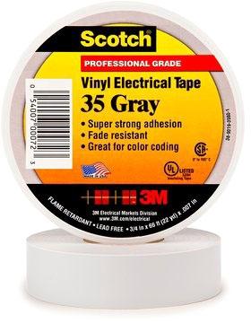 3M Tape Gray 3/4in X 66ft
