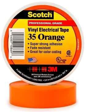 3M Tape Orange 3/4in X 66ft