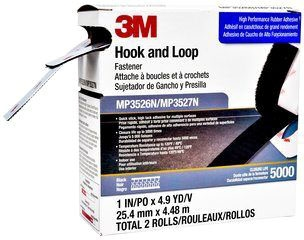 3M Hook & Loop Mini Pack 1rl Ea