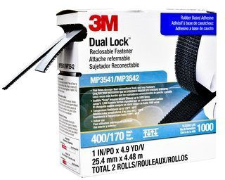 3 Dual Lock Recloseable Velcro 1 X 4.9