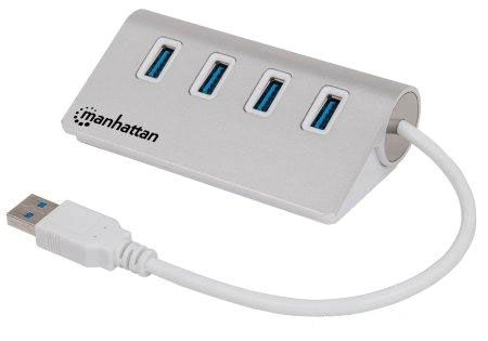 Ic 4-Port USB 3.0 Hub w/ AC Power