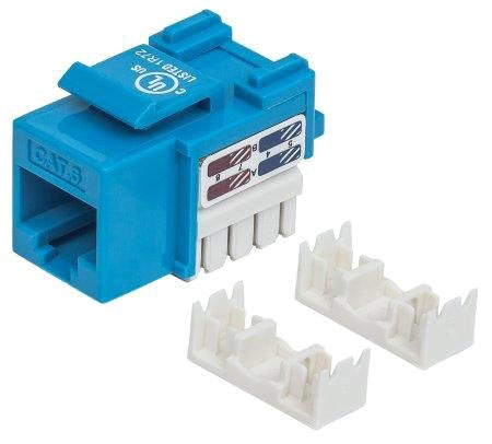 Ic Cat6 Blue Keystone Jack