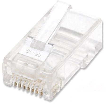 Ic Cat5e Modular Plug 100/Jar