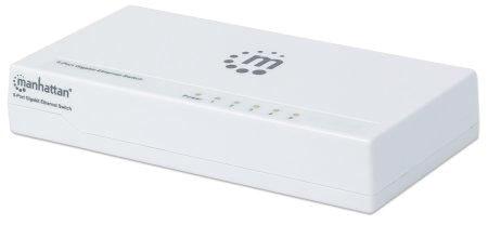 Ic 5 Port Gigabit Desktop Switch Plastic