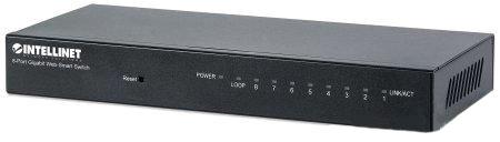 Ic 8 Port Gigabit Web-Smart Switch
