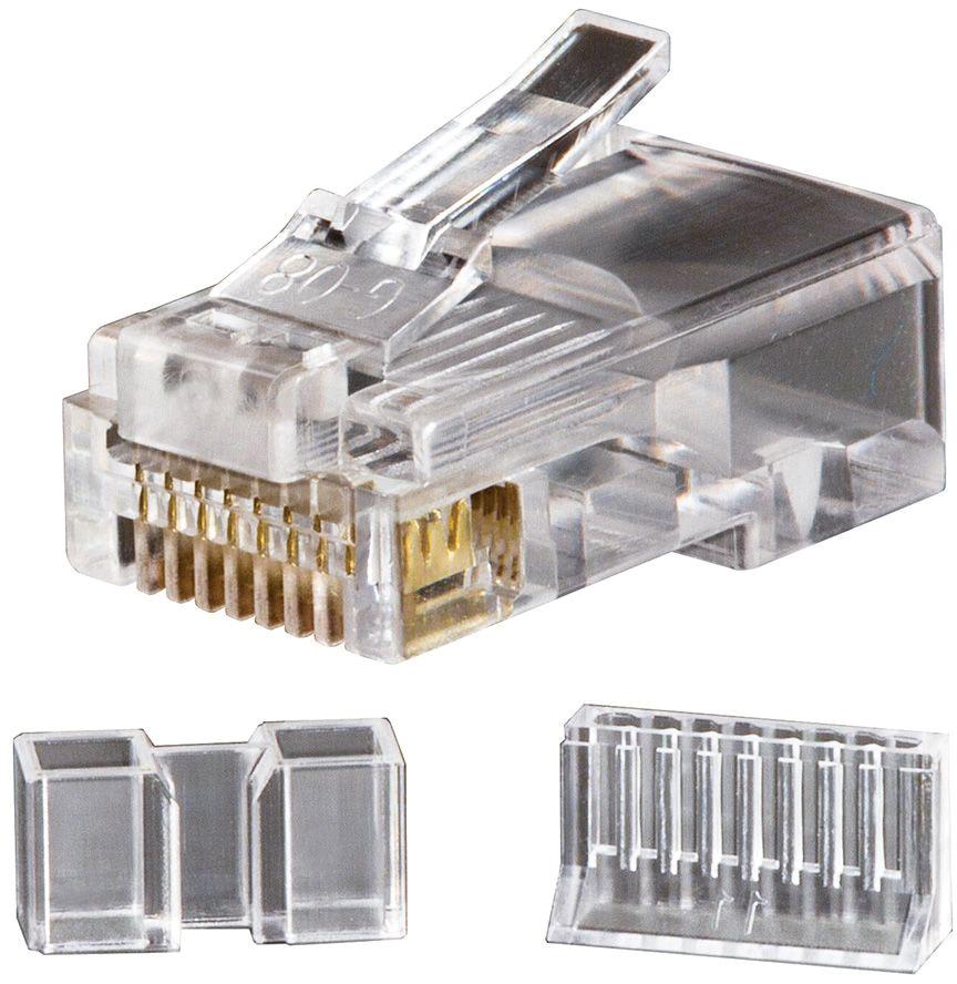 Klein Modular Data Plug RJ45 Cat6 25-Pac