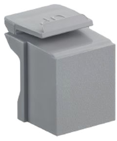 Leviton Blank Insert Gray 10/bag