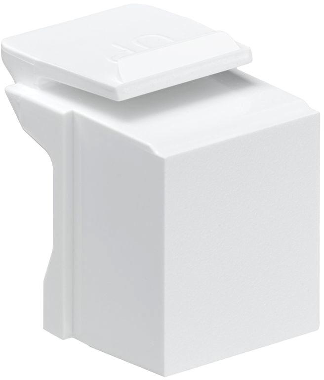 Leviton Blank Insert White 10PK