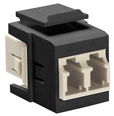 Leviton MM QuikPort Adapter Black