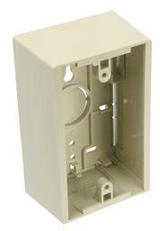 Leviton 1g Surface Box 1.89d Ivory