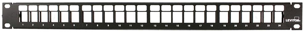 Leviton 48 Port Angled Field Configureab