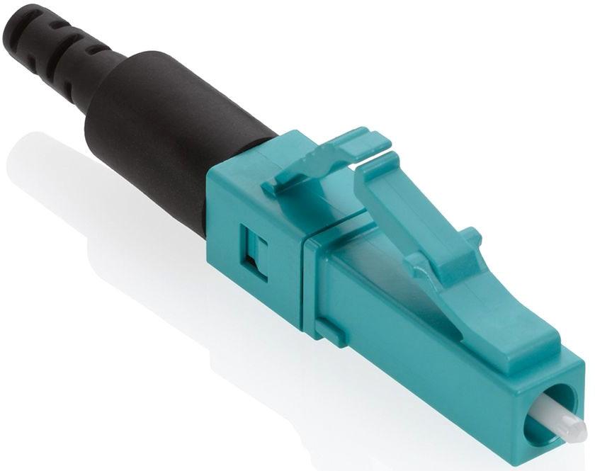 Leviton FastCAM 50um OM3 Fiber Connector