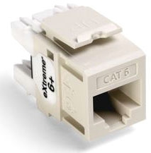 Leviton Cat 6 Jack Lt Almond