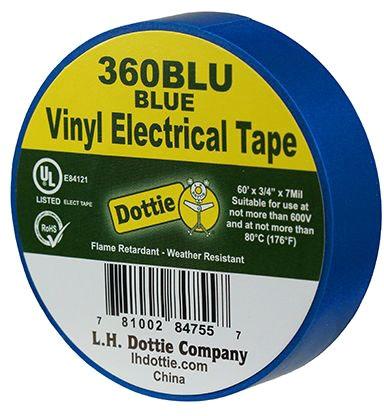 Dottie 3/4 X 60ft Tape Blue