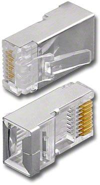 Pan Pacfic Cat5e Shielded RJ45 Plug
