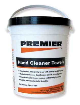 Premier Hand Cleaner Towles 72pc Bucket