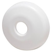 1/2 CTS ESCUTCHEON WH
