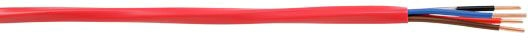 Sup/Ess 2cond 12ga FPLP Fire Alarm Red