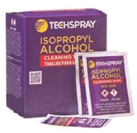 Techspray Alcohol Wipe 50 Pack