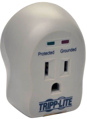 Tripp-Lite 1-Outlet Surge Protector