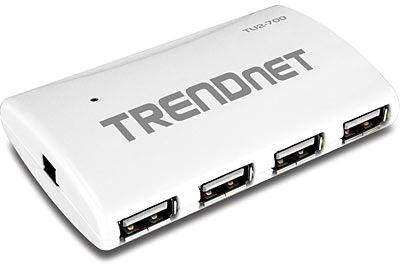 TRENDnet 7 Port High Speed USB Hub w/ Po