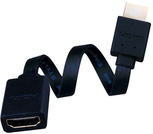 Vanco 1ft Flat HDMI Male to Female
