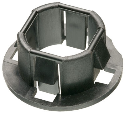 ARL 4400 1/2 SNAP-IN KO BUSHING PLASTIC PKG 100/1000