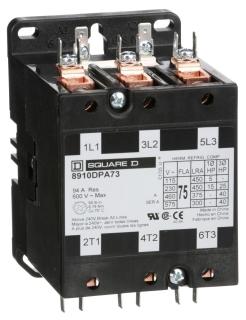 SQD 8910DPA73V02 CONTACTOR 600VAC 7