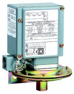 SQD 9012GAW1 PRESSURE SWITCH 480VAC