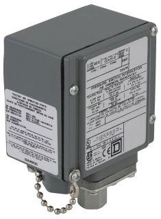 SQD 9012GAW4 PRESSURE SWITCH 480VAC