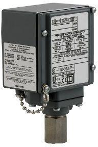 SQD 9012GFW2 PRESSURE SWITCH 480VAC