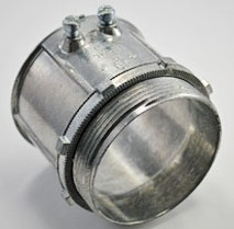 TPZ 638 3IN ZNC S/S EMT/RGD CONN (T&B TC228SC)(BP 237-DC2)(ARL 807)
