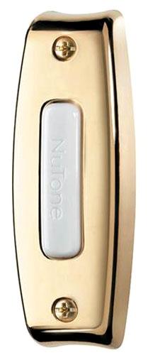 Brass Doorbell Button Lighted