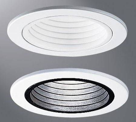 HAL4001WB 4001WB 4IN WHT BAFFLE TRIM (REPLACES ERT401WHT)