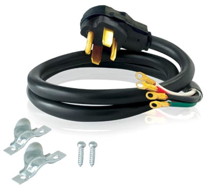 4-Prong Dryer Cord 4'