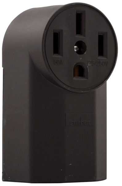 4-Wire Surface Mount Range Receptacle